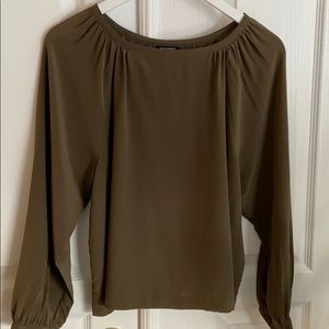 Club Moneco 100% silk blouse